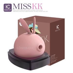 [KISSTOY] 3단흡입 10단진동 미스 케이케이 (핑크)